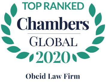 Chambers Global Olf Ranked